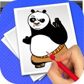 Coloring game panda-fu 1.0