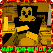 The part two of the adventures Bendi map for MCPE 4.2.5.mcpe.maps