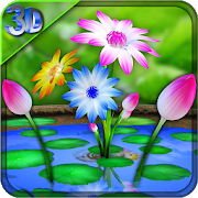 3D Flowers Touch Wallpaper 3.5