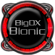 Bionic Launcher Theme Red 4.5