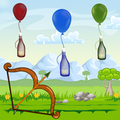 Archery Bottle Shoot Game 1.2