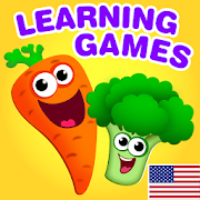 FUNNY FOOD 2! Educational Games for Kids Toddlers! 1.7.0.36