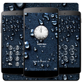 Water drops black theme 1.1.4