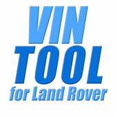VIN TOOL FOR LAND ROVER CARS