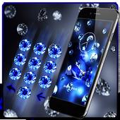 Blue Bling Diamond Theme 1.1.11