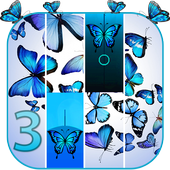 Blue Butterfly Piano Tiles 2019 1.1.5