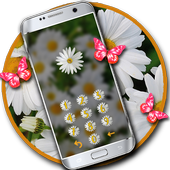 Butterfly flower lock theme 1.1.4