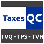 TaxeQC Calculateur TPS/TVQ/TVH R3