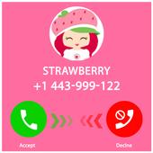 Call Strawberry Cute Girl 2018 fake 1.0