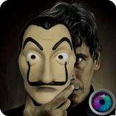 La Casa De Pappel Mask Photo Maker Cam 3.2