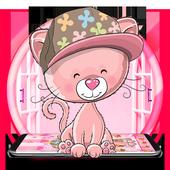 Raccoon Pink Icons