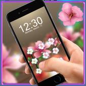 Pink Flower AppLock Theme 1.1.6