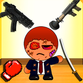 Kill The Bad Stickman Boss 1 2