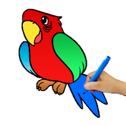 Birds Coloring Games 2