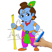 Lord Krishna Paint and Colors 1