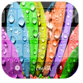Colorful Flower Keyboard Theme 10001003