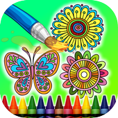 Coloring Book Mandalas 2