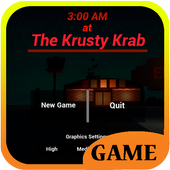 3 AM at The Krusty Krab