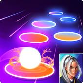 3D Ball Rush - Billie Eilish Hop Tiles 1.0