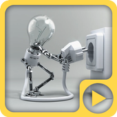 Funny Lamp Electricity 4K LWP 1.0