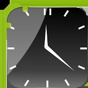 Crystal Black Clock Widget 1.7