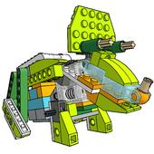 Lego WeDo 2.0 Triceratops unofficial building 0.2