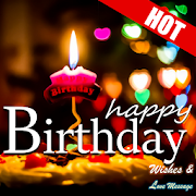 Happy Birthday Wishes Messages 7560 Icon