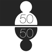 50 50 with FRIENDSApp Design Company UKCasual