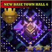 New coc base town hall 6 1.0