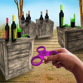 Bottle Shooter Spinner Gun 1.1