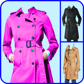 Woman Trench Coat Photo Maker 1.0.1