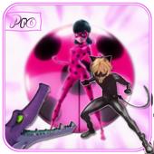 Jump Ladybug Chibi Ninja hero 1.0