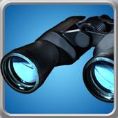 binoculars camera simulator