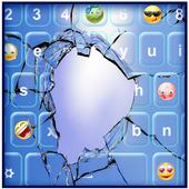Broken Glass Keyboard Design 2.0