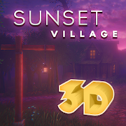 Sunset Village 3D Wallpaper XL 1.0