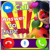 Instant Fake Call Prank from Ladybug 2018 2.0