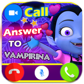 Fake Call Prank From Vampirin (instant video call) 2.0