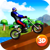 Motocross Bike Stunts Race 3D