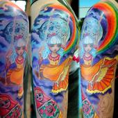 Colorful Tattoos Wallpaper 1.00
