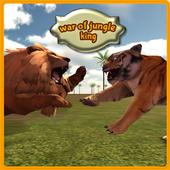 War of Jungle King : Lion Sim 1.5