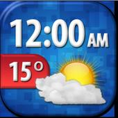 Cool Weather Clock Widget 5.0