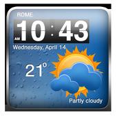 Cool Weather Clock Widgets 1.7