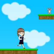 아침의 소녀 - 원 버튼 플랫폼 점프 게임 1.0.0