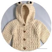 Crochet Baby Cardigan 1.0