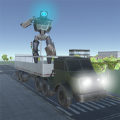 X Ray Robot Transport Truck 1.0