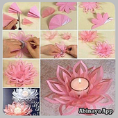 Paper Flower Craft Tutorial 1.0