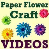 DIY Paper Flower Craft VIDEOs 5.1
