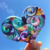 DIY Paper Quilling art 1.0