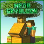 MAP Mega Skyblock for MCPE 4.0