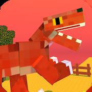 Blocky Titan Raptor: City Assault 0.2